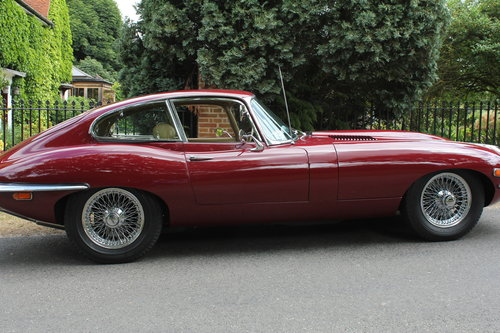 1964 1971 Jaguar E-Type 4.2 Series 2 Coupe SOLD (picture 4 of 6)