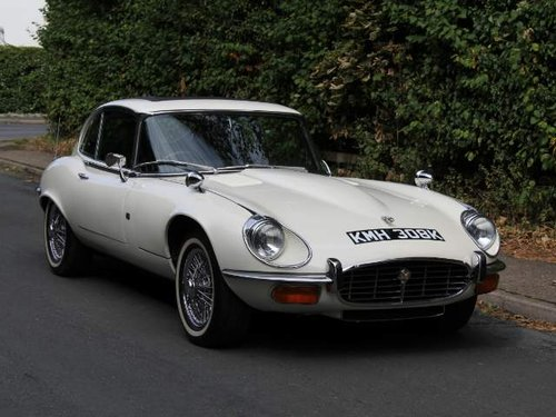 1972 Jaguar E-Type Series III V12 FHC Auto - 70k miles, UK car For Sale (picture 1 of 6)