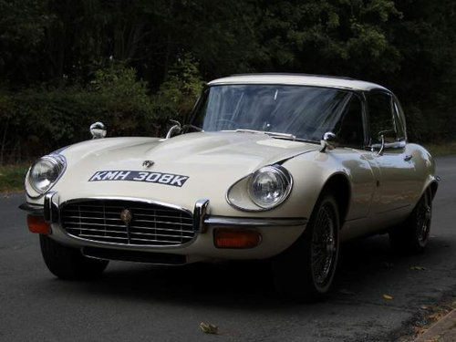 1972 Jaguar E-Type Series III V12 FHC Auto - 70k miles, UK car For Sale (picture 2 of 6)