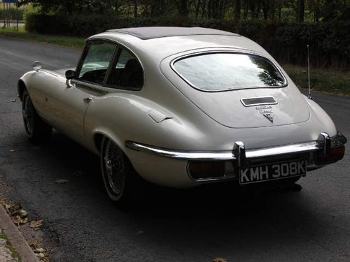 1972 Jaguar E-Type Series III V12 FHC Auto - 70k miles, UK car For Sale (picture 3 of 6)