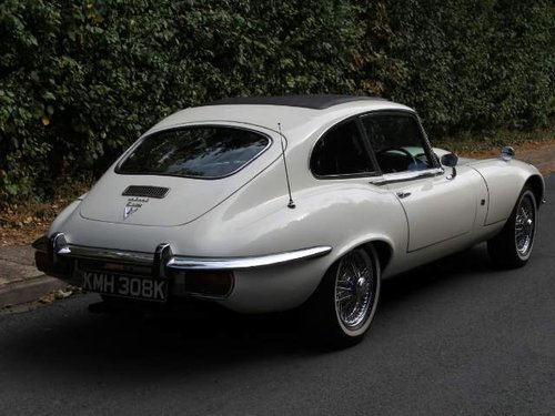 1972 Jaguar E-Type Series III V12 FHC Auto - 70k miles, UK car For Sale (picture 4 of 6)