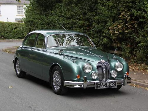 1959 Stunning Bespoke Jaguar MK2 Diesel Automatic For Sale (picture 1 of 6)
