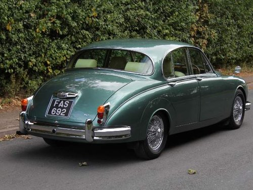 1959 Stunning Bespoke Jaguar MK2 Diesel Automatic For Sale (picture 3 of 6)