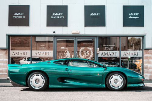 1991 Jaguar XJ220 Coupe 3.5 2DR For Sale (picture 2 of 6)