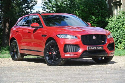 2016 JAGUAR F-PACE V6 S AWD **PAN ROOF & ADV PARKING PACK** For Sale (picture 1 of 6)
