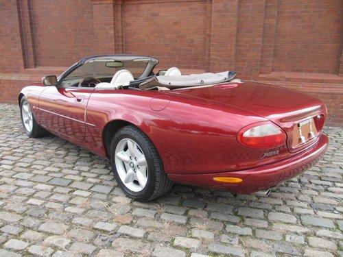 1997 JAGUAR XK8 CONVERTIBLE 4.0 CABRIOLET LOW MILES * LHD For Sale (picture 3 of 6)