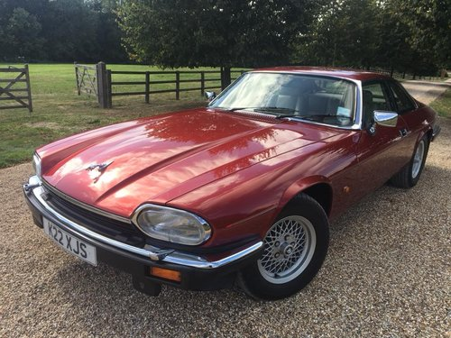1993 XJS  V12  COUPE  JUST  59000  MILES  UNMARKED   For Sale (picture 2 of 6)