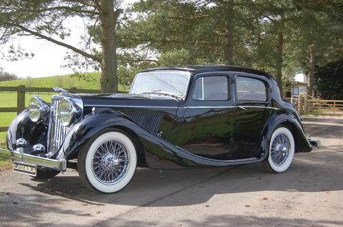 1949 Jaguar MK IV   3.5 litre left hand drive For Sale (picture 1 of 6)