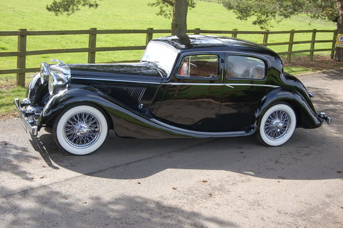1949 Jaguar MK IV   3.5 litre left hand drive For Sale (picture 3 of 6)