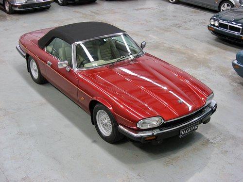 1993 Jaguar XJS 5.3L V12 Convertible For Sale (picture 2 of 6)