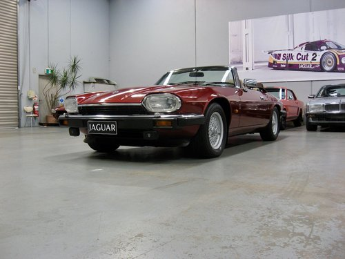 1993 Jaguar XJS 5.3L V12 Convertible For Sale (picture 3 of 6)