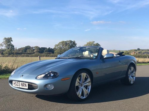 2003 Jaguar XKR 4.2 Supercharged Convertible SOLD (picture 1 of 6)