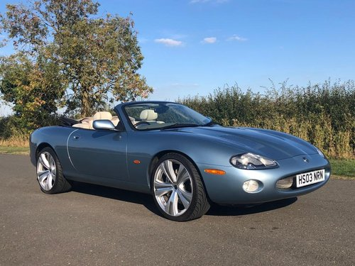 2003 Jaguar XKR 4.2 Supercharged Convertible SOLD (picture 3 of 6)