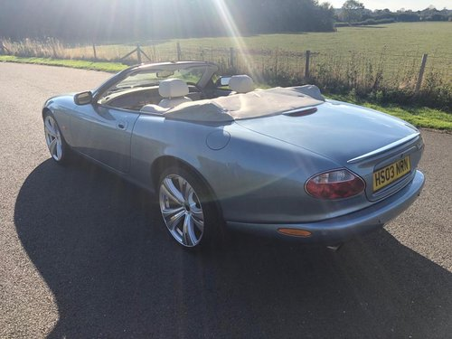 2003 Jaguar XKR 4.2 Supercharged Convertible SOLD (picture 4 of 6)
