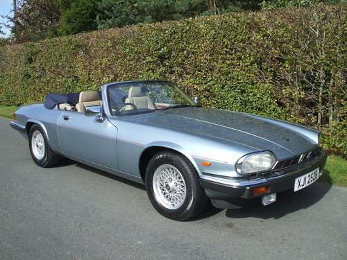 1990 XJS Convertable  For  Sale.  For Sale (picture 1 of 6)