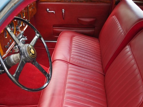 1958 Jaguar MK1 3.4 top restored condition, matching numbers and  For Sale (picture 3 of 6)