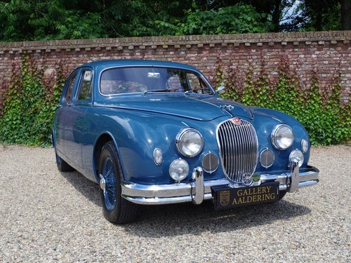1958 Jaguar MK1 3.4 top restored condition, matching numbers and  For Sale (picture 5 of 6)