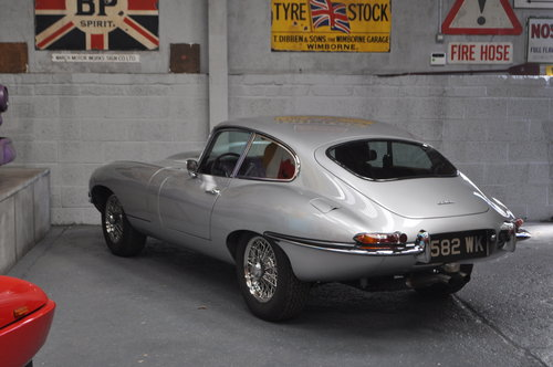 1964 Jaguar E-type Series 1 3.8 Fixed Head Coupe For Sale (picture 2 of 6)