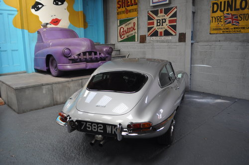 1964 Jaguar E-type Series 1 3.8 Fixed Head Coupe For Sale (picture 5 of 6)