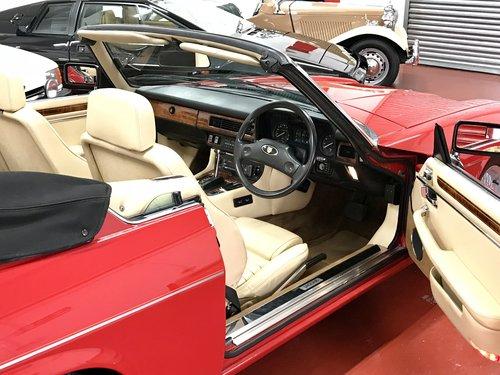 1989 Jaguar XJS Convertible 5.3 V12 - ** Genuine 63k Miles ** For Sale (picture 3 of 6)