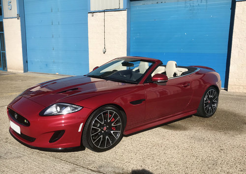 2014 Jaguar XK Supercharged Dynamic R Convertible Limited Edition For Sale (picture 1 of 6)