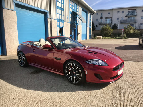 2014 Jaguar XK Supercharged Dynamic R Convertible Limited Edition For Sale (picture 2 of 6)