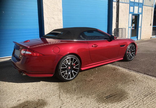 2014 Jaguar XK Supercharged Dynamic R Convertible Limited Edition For Sale (picture 3 of 6)