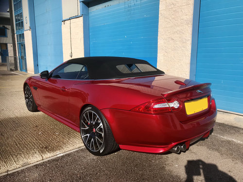 2014 Jaguar XK Supercharged Dynamic R Convertible Limited Edition For Sale (picture 4 of 6)