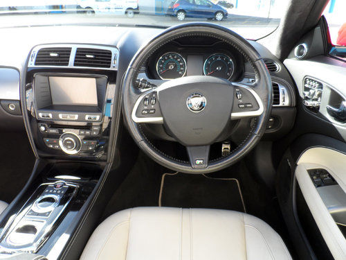 2014 Jaguar XK Supercharged Dynamic R Convertible Limited Edition For Sale (picture 6 of 6)