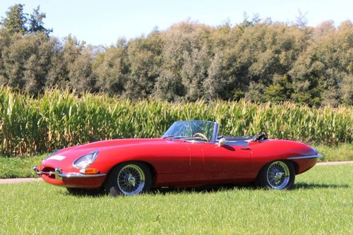 Jaguar E-type SI 4.2 Roadster LHD - 1965 For Sale (picture 1 of 6)