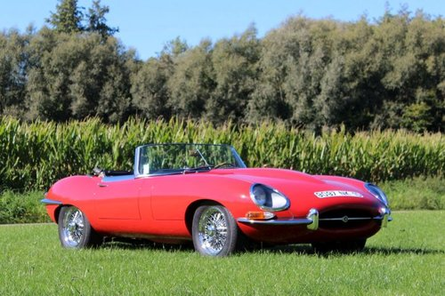 Jaguar E-type SI 4.2 Roadster LHD - 1965 For Sale (picture 2 of 6)