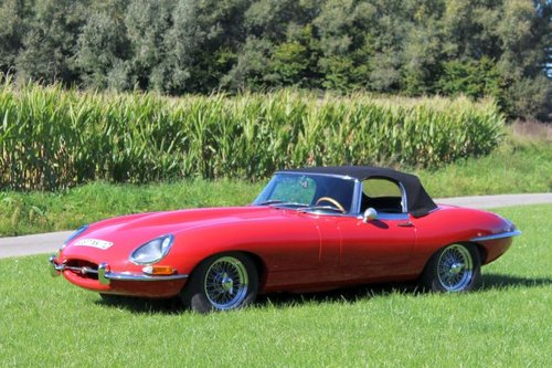 Jaguar E-type SI 4.2 Roadster LHD - 1965 For Sale (picture 3 of 6)