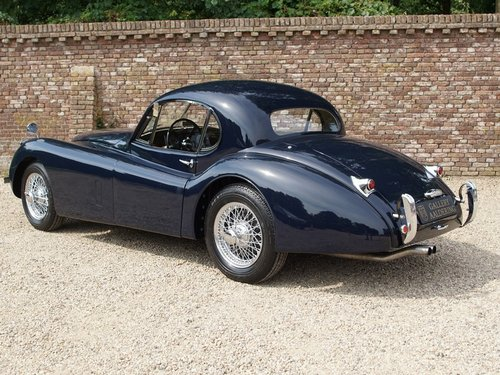 1951 Jaguar XK120 SE FHC fully restored condition! only 753 For Sale (picture 2 of 6)