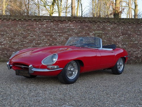 1962 Jaguar E-Type flat floor 3.8 series 1 convertible matching n For Sale (picture 1 of 6)