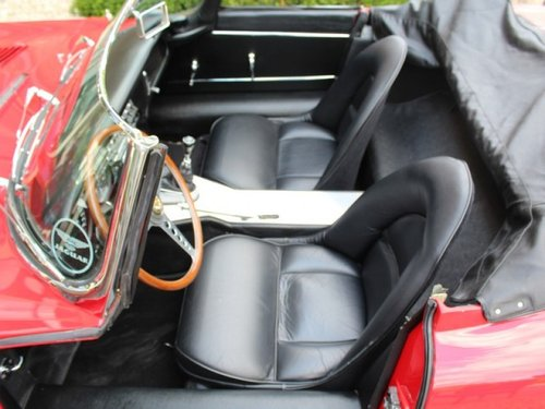 1962 Jaguar E-Type flat floor 3.8 series 1 convertible matching n For Sale (picture 3 of 6)
