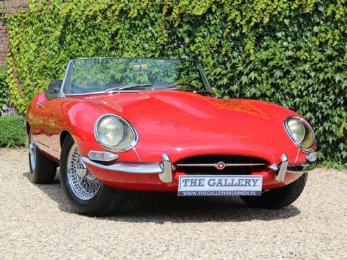 1962 Jaguar E-Type flat floor 3.8 series 1 convertible matching n For Sale (picture 5 of 6)