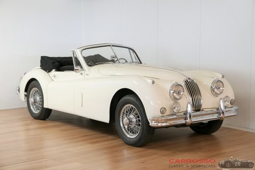 Jaguar XK 140 DHC 1956 Beautiful car with matching numbers For Sale (picture 1 of 6)