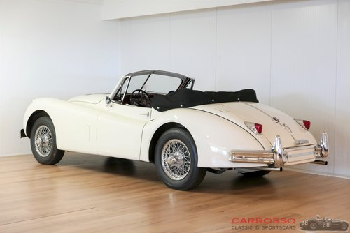 Jaguar XK 140 DHC 1956 Beautiful car with matching numbers For Sale (picture 2 of 6)