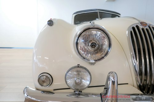 Jaguar XK 140 DHC 1956 Beautiful car with matching numbers For Sale (picture 5 of 6)