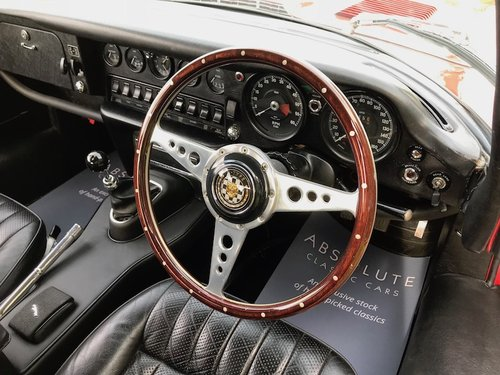 1969 Jaguar E-Type Series 2 2+2 Manual, Heritage Cert  SOLD (picture 2 of 6)