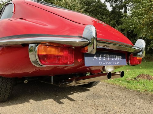 1969 Jaguar E-Type Series 2 2+2 Manual, Heritage Cert  SOLD (picture 5 of 6)