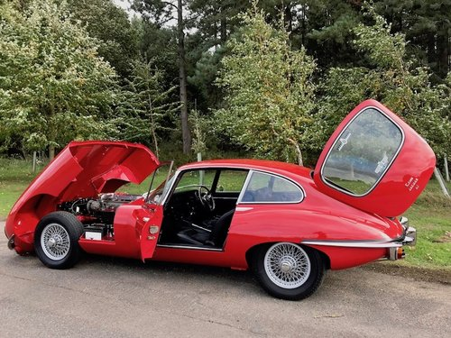 1969 Jaguar E-Type Series 2 2+2 Manual, Heritage Cert  SOLD (picture 6 of 6)