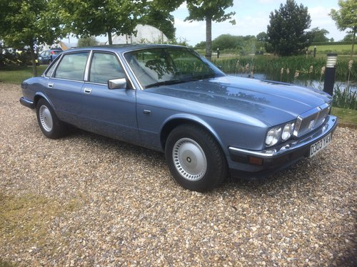 1986 Jaguar XJ6. 1 owner, 24000 miles. For Sale (picture 1 of 6)