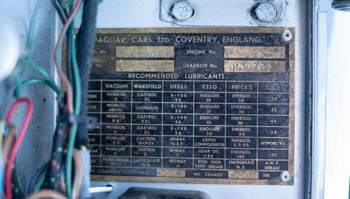 1954 JAGUAR XK120 FHC SOLD (picture 3 of 6)