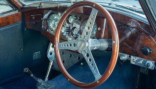 1954 JAGUAR XK120 FHC SOLD (picture 6 of 6)