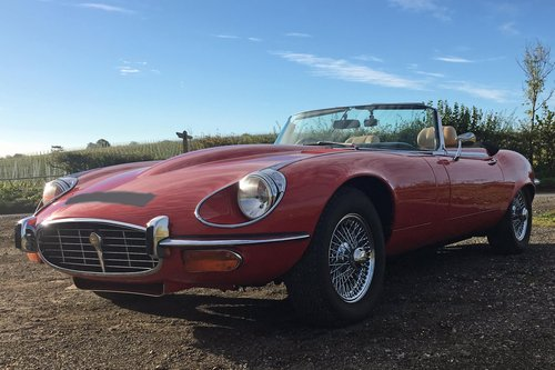 1973 Jaguar E-Type Series 3 Roadster For Sale (picture 1 of 6)