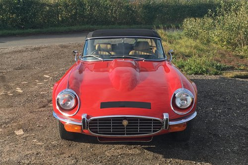 1973 Jaguar E-Type Series 3 Roadster For Sale (picture 2 of 6)