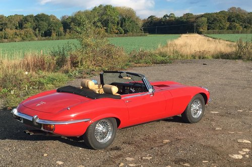 1973 Jaguar E-Type Series 3 Roadster For Sale (picture 3 of 6)