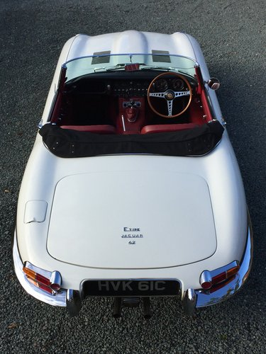 1965 JAGUAR E-TYPE S1 4.2 ROADSTER SOLD (picture 3 of 6)