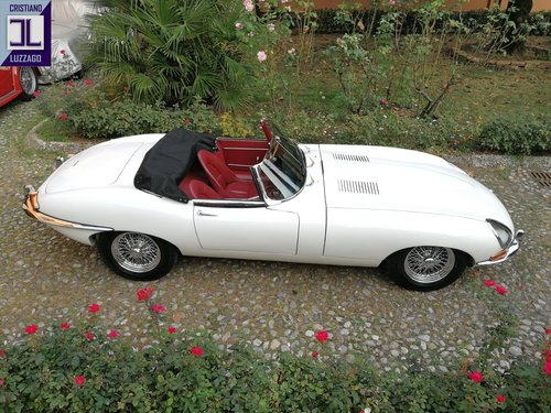 WONDERFUL 1962 JAGUAR E TYPE 3800 S1 ROADSTER For Sale (picture 2 of 6)